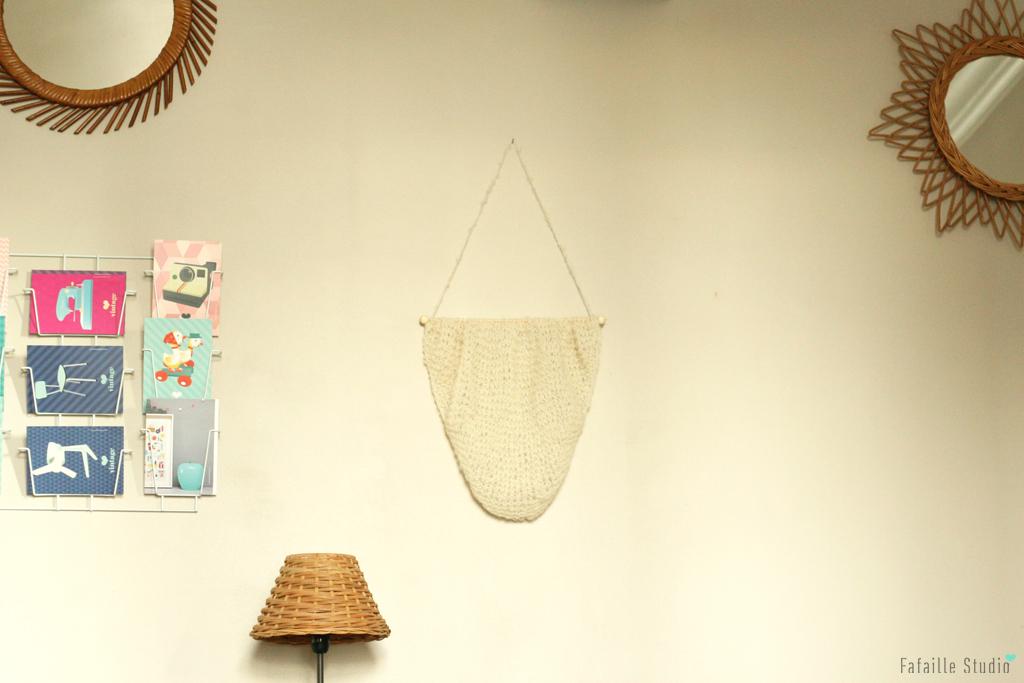 Tuto du trendy mural tricoté en laine alpaca silk
