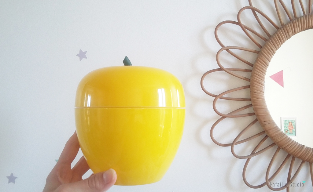 Pomme à glaçons jaune