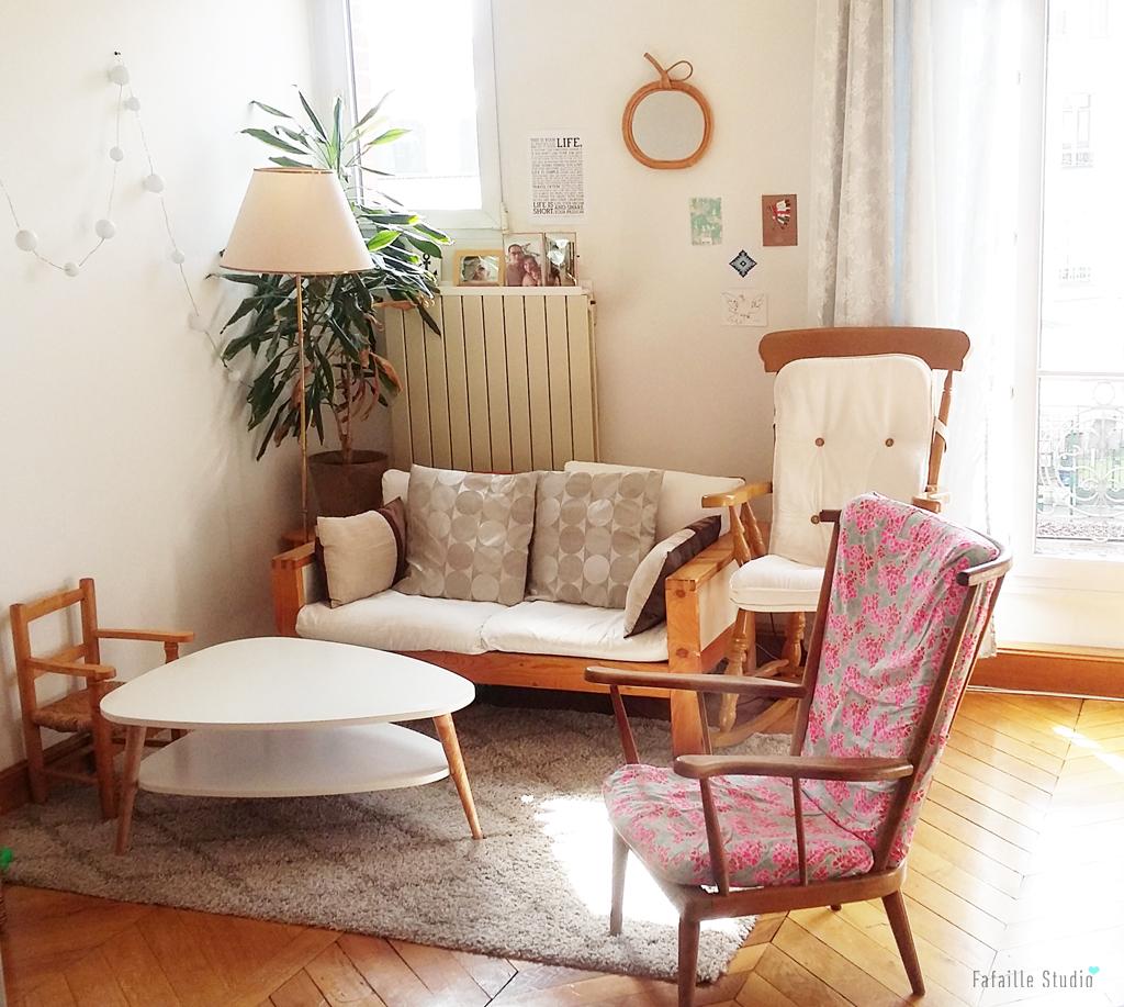 Petit salon vintage